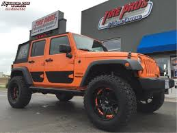 orange jeep rubicon jeep wrangler moto metal mo961 wheels chrome orange insert