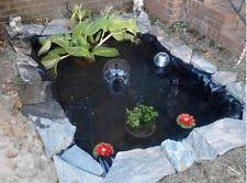 Backyard Fish Pond Kits by Fish Pond Liner Water Preformed Backyard Plants Rubber Diy Build