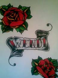 Flower Designs On Paper Graphical Anchor And Banner Tattoo Design On Paper Tattooshunter Com