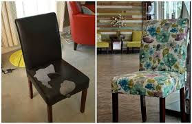 Upholstered Parsons Dining Room Chairs Spa Inspired Upholstered Parsons Chair Hometalk