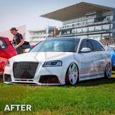 audi a3 front bumper removal audi a3 s3 2009 2012 to rs3 front bumper conversion without