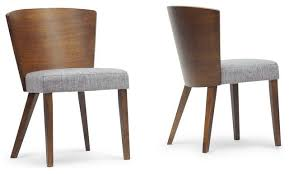 sparrow wooden dining chairs set of 2 contemporary dining