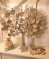 wishing tree large wooden guest book heavens craft and guestbook
