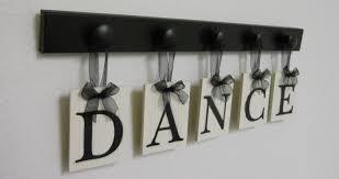 dance art for teenagers room sign wooden dance sign dance