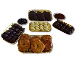 christmas gift box traditional italian pastry products and
