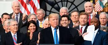 trump tax reform president trump tax bill an incredible christmas gift for hard