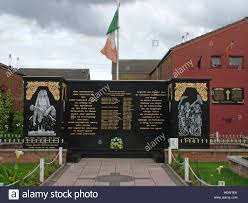 Who Made The Flag Belfast Falls Rd Republican Peace Garden Names Of The Fighters
