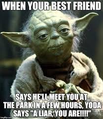 Best Star Wars Meme - star wars yoda meme imgflip
