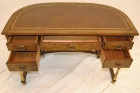 Maddox Tables Secretary Desk by Burled Walnut And Brass Ladies Writing Desk By Sligh Ebay