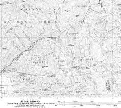Philmont Scout Ranch Map Map100k Gif