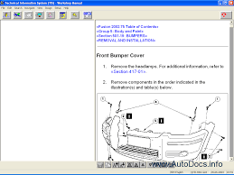 ford tis europe 1995 2003 repair manual order u0026 download
