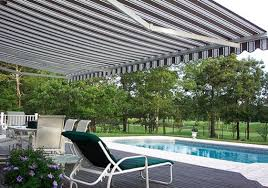 Side Awnings For Patios Pool Side Retractable Awning Modern Patio New York By