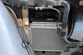 ford heater blend door manual control
