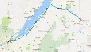Quebec Map Crossing Canada Day 2 3 Edmundston To Quebec City Full Time Canada