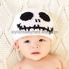 halloween skull hat skeleton head hat crochet baby hat baby