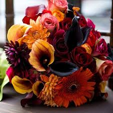 fall flowers for wedding a guide to fall wedding flowers topweddingsites