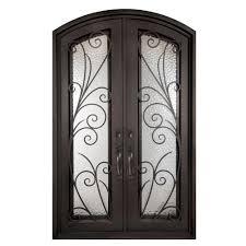 38 x 82 double door front doors exterior doors the home depot