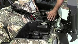 polaris hd winch kit atv installation polaris off road vehicles
