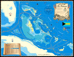 Map Of Florida And Bahamas by Island Map Store At Palm Beach International Boat Show 2017