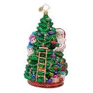 radko ornaments scenes north pole christmas ornament holiday
