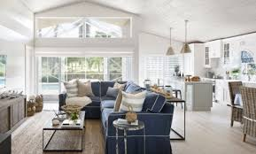 nautical living with navy blue white u0026 natural textures