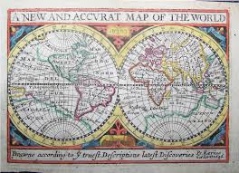 Ancient World Map by Ancient World Maps World Map 17th Century