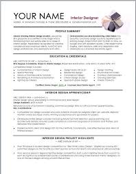 assistant interior design intern resume template interior