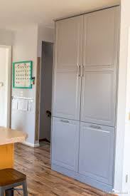 Beadboard 4 Door Pantry by How To Assemble An Ikea Sektion Pantry Infarrantly Creative