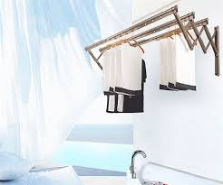 retractable wall mounted clothes drying rack model usgd rc4515