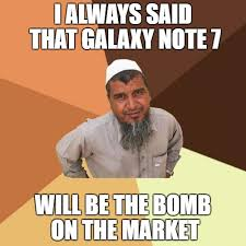 Galaxy Note Meme - ordinary muslim man meme imgflip