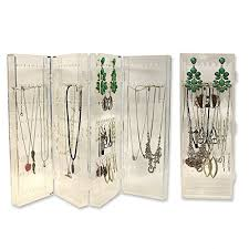 necklace organizer images Deco earring necklace organizer acrylic folding jpg