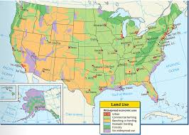 United States Map 1840 by 16 United States L3 Where People Live United States Atlas