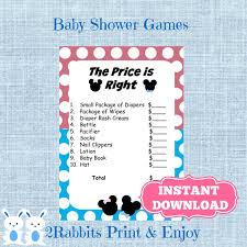 baby shower mickey mouse free printable invitation design