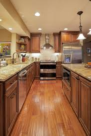 kitchen colors with medium brown cabinets woods in warm rich medium brown tones were used to great