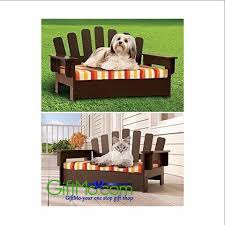Indoor Sofa Cushions by Pet Chair Wooden Cat Sofa Dog Couch Porch Bed Indoor Outdoor