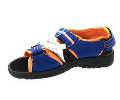 boys beech sandal navy orange u2013 haworth footwear wholesale