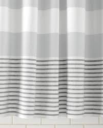 Shower Curtain Striped Valuable Gray And White Striped Shower Curtain Stripe West Elm