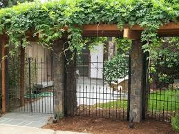 residential fencing ornamental outdoor fence