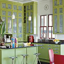 kitchens with glass cabinets designer kitchens glass front cabinets simplified bee