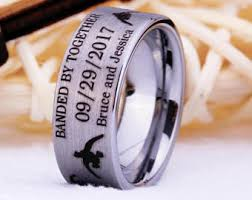 duck band wedding rings duck band etsy