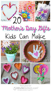 mothers days gifts 20 s day gifts kids can make