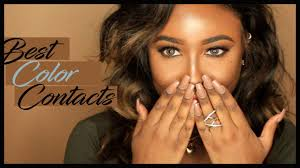 best colored contacts for darker skin lens me paris harley
