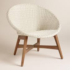All Weather Wicker Round All Weather Wicker Vernazza Chairs Set Of 2 By World