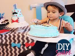 Little Man 1st Birthday Decorations Little Man First Birthday Party Diy Swank
