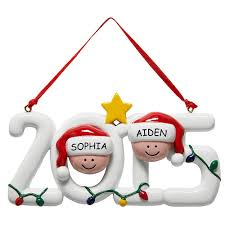 personalized gifts 2015 family ornament