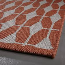 Crate And Barrel Indoor Outdoor Rugs Aldo Mandarin Indoor Outdoor 8 X10 Rug Crate And Barrel