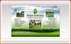 Lawncare Business Cards Landscaping Business Cards Resume Name