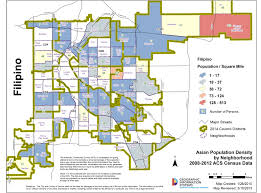 Denver Metro Map Gis Maps By Ethnicity Asian