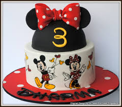 hand painted minnie mickey mouse cake cakecentral