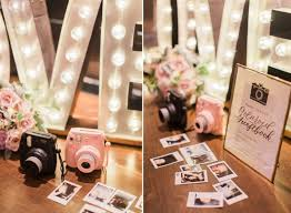 fall wedding guest book polaroid wedding guest book idea mon cheri bridals